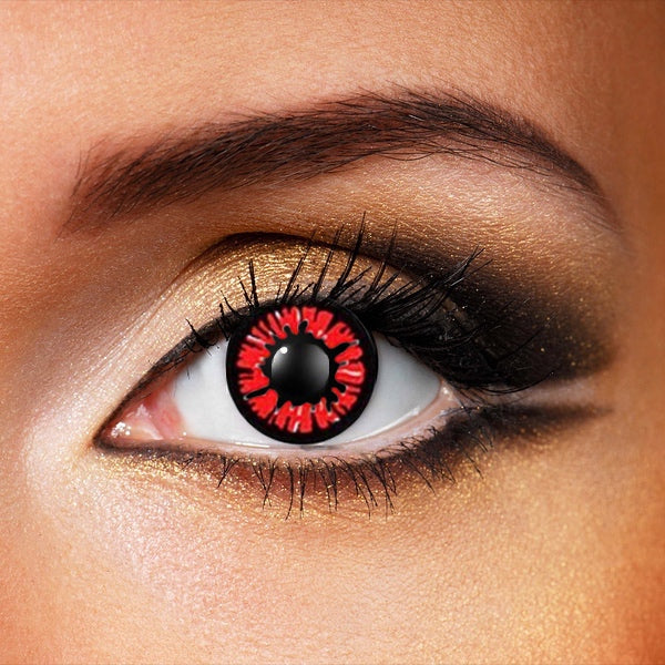 Red Dolly Crazy Contacts (New)