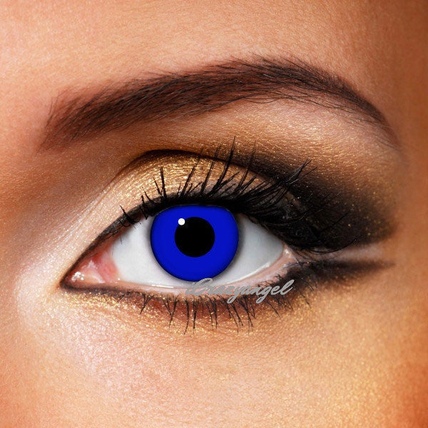 Explosion Blue Contact Lenses