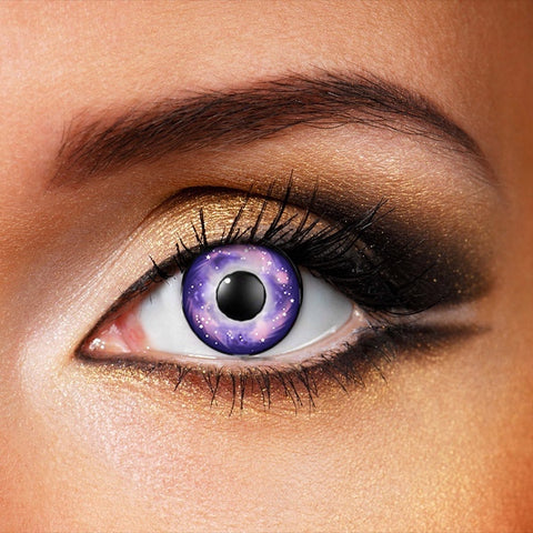 Galaxy Purple Contact Lenses (New)