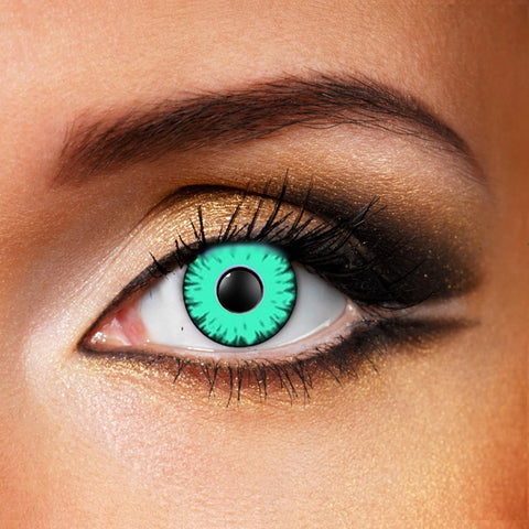 Green Monster Crazy Contact Lenses