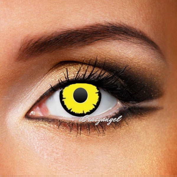TWILIGHT YELLOW Crazy LENSES