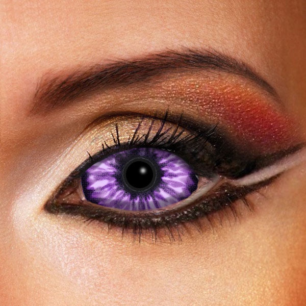 Violet Monster Sclera Contacts 22mm Lenses