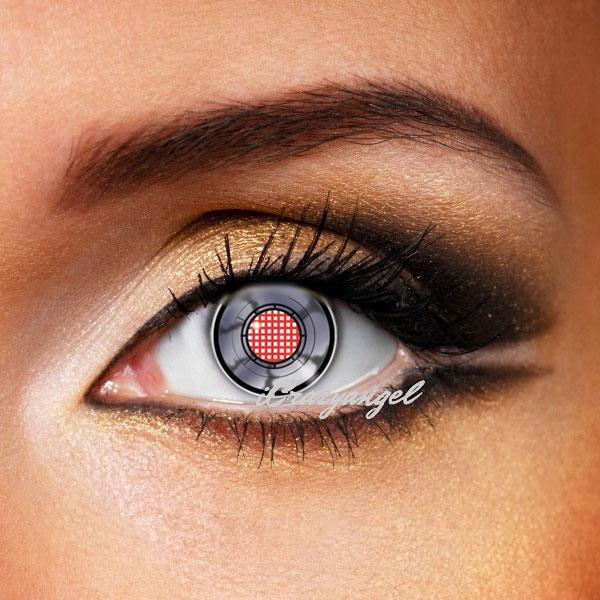 Robot Android Eye Crazy Contacts