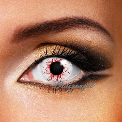 Bloodshot Drop Contact Lenses