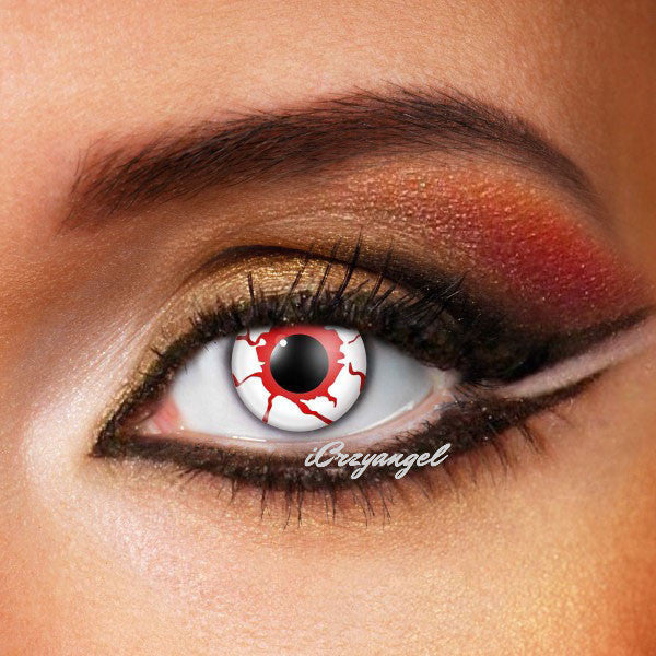 Blood Shot Crazy Contact Lenses