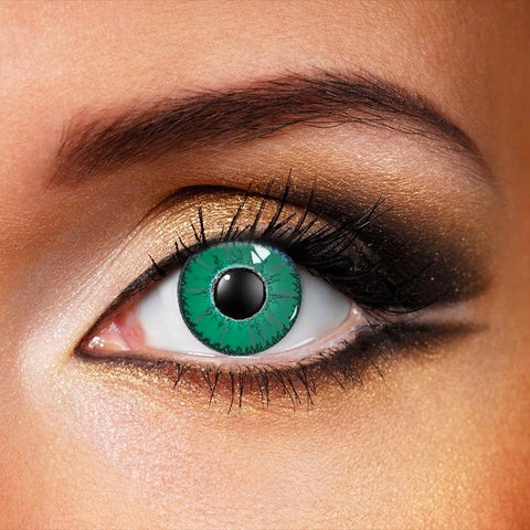 Green Devil Crazy Contact Lenses