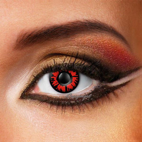 Explosion Red Contact Lenses