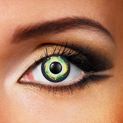 Galaxy Green Contact Lenses (New)