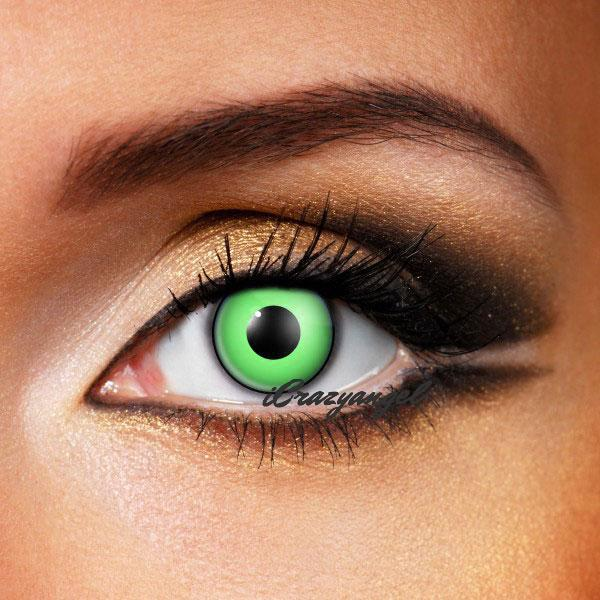Green Manson Crazy Contact Lenses