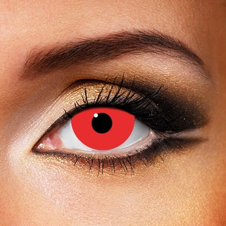 Mini Sclera Red Out 17mm Contact Lenses