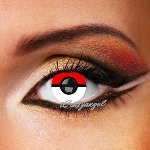 Pokemon Costume Contact Lenses (New)