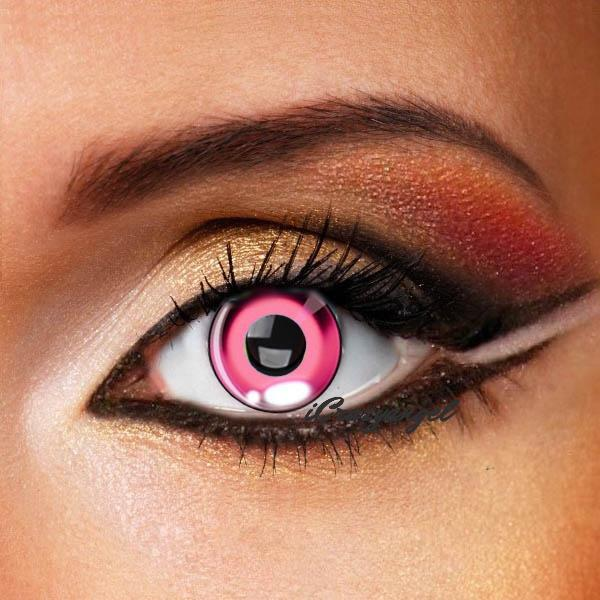 Anime Costume Pink Contact Lenses