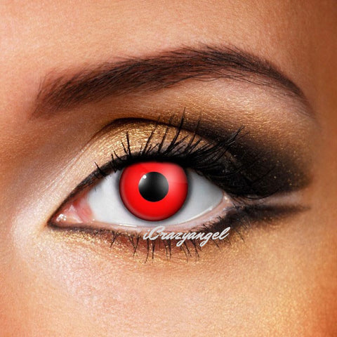 Red Out VAMPIRE / ZOMBIE Crazy Lenses