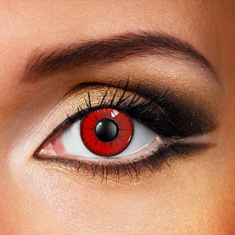 Red Devil Crazy Contact Lenses