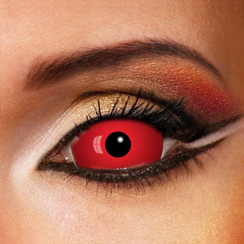 VAMPIRE RED SCLERA 22MM Crazy LENSES