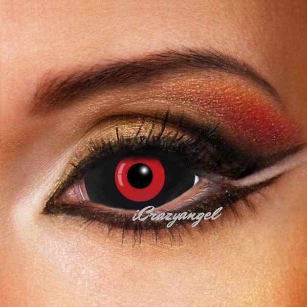 Tokyo Ghoul Red & Black Sclera Contacts 22mm