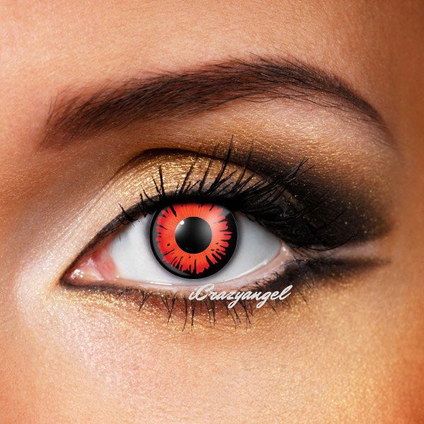 Twilight Volturi Vampire Red Contact Lenses