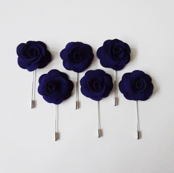 Lapel Pin - Navy (6s) Online Exclusive Discount (6-8 weeks lead-time)