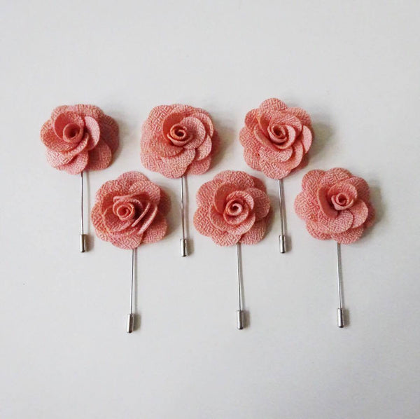 Lapel Pin - Blush Pink (6s) Online Exclusive Discount (6-8 weeks lead-time)