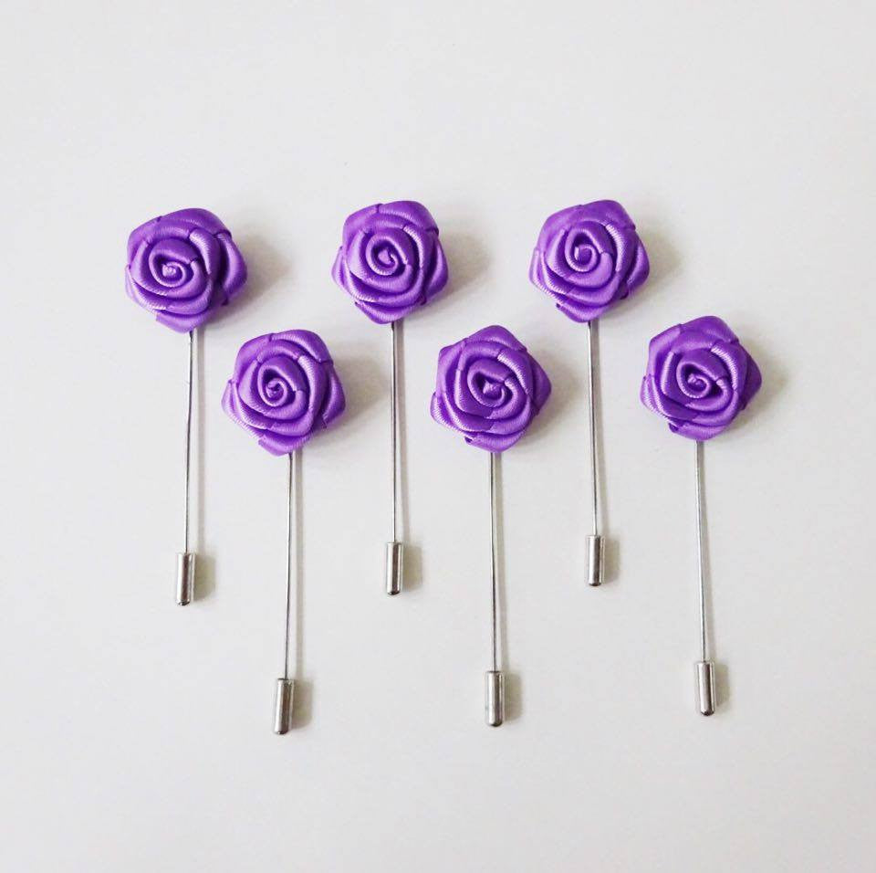 Lapel Pin - Purple Small (6s) Online Exclusive Discount (6-8 weeks lead-time)