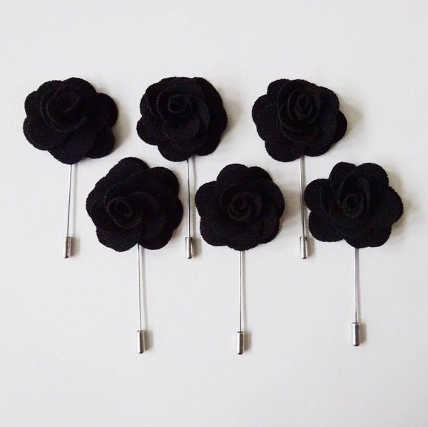 Lapel Pin - Black (6s) Online Exclusive Discount (6-8 weeks lead-time)