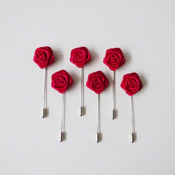 Lapel Pin - Red Small (6s) Online Exclusive Discount (6-8 weeks lead-time)