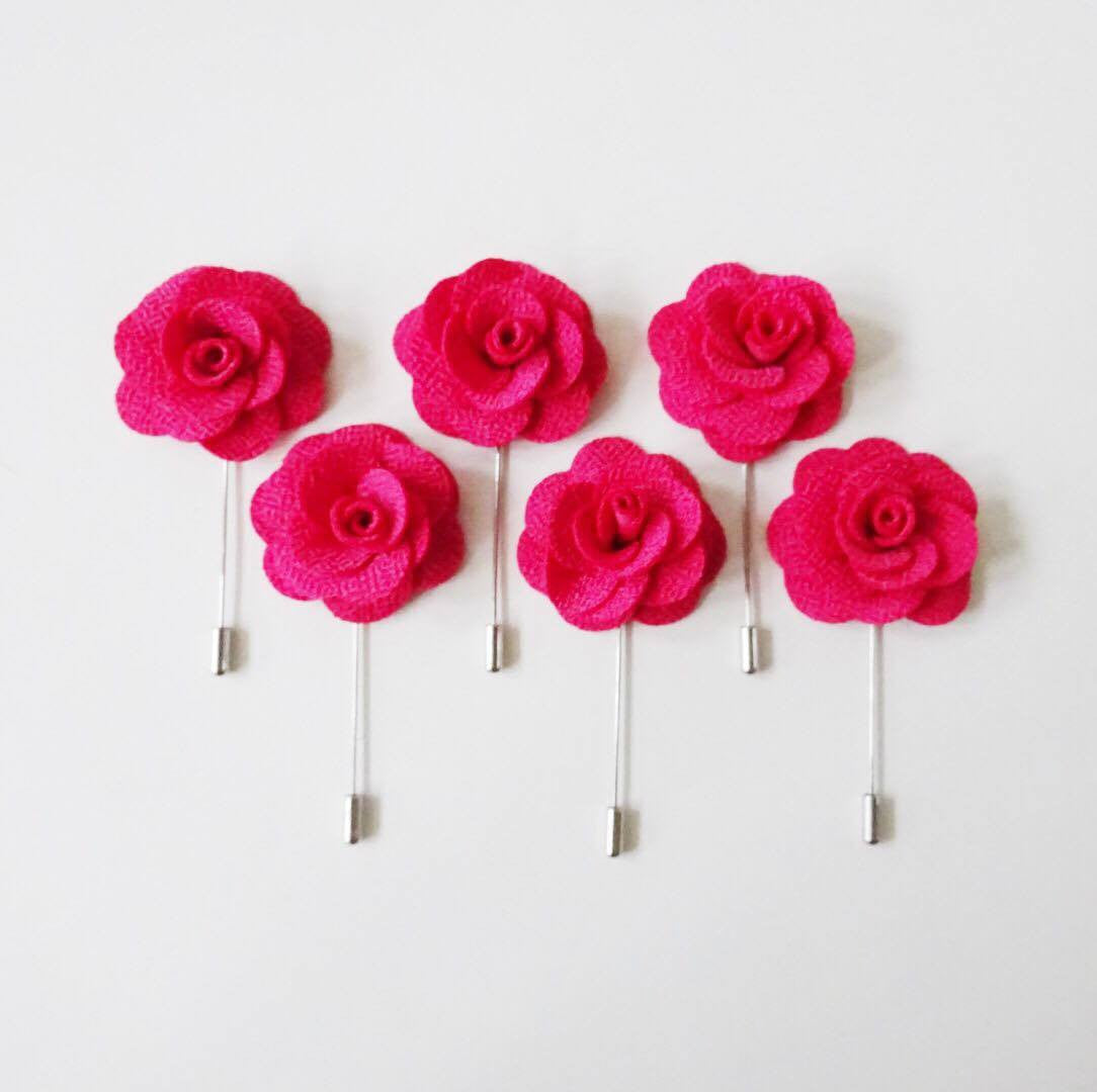 Lapel Pin - Pink (6s) Online Exclusive Discount (6-8 weeks lead-time)