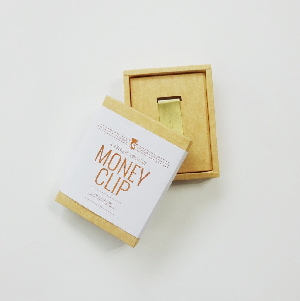 Money Clip - Feel the Fear and Do it anyway