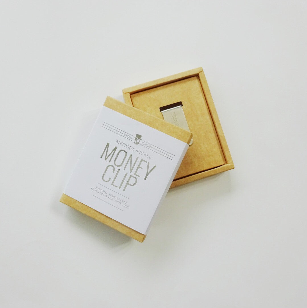Money Clip - Jobs fill your pocket, adventures fill your soul