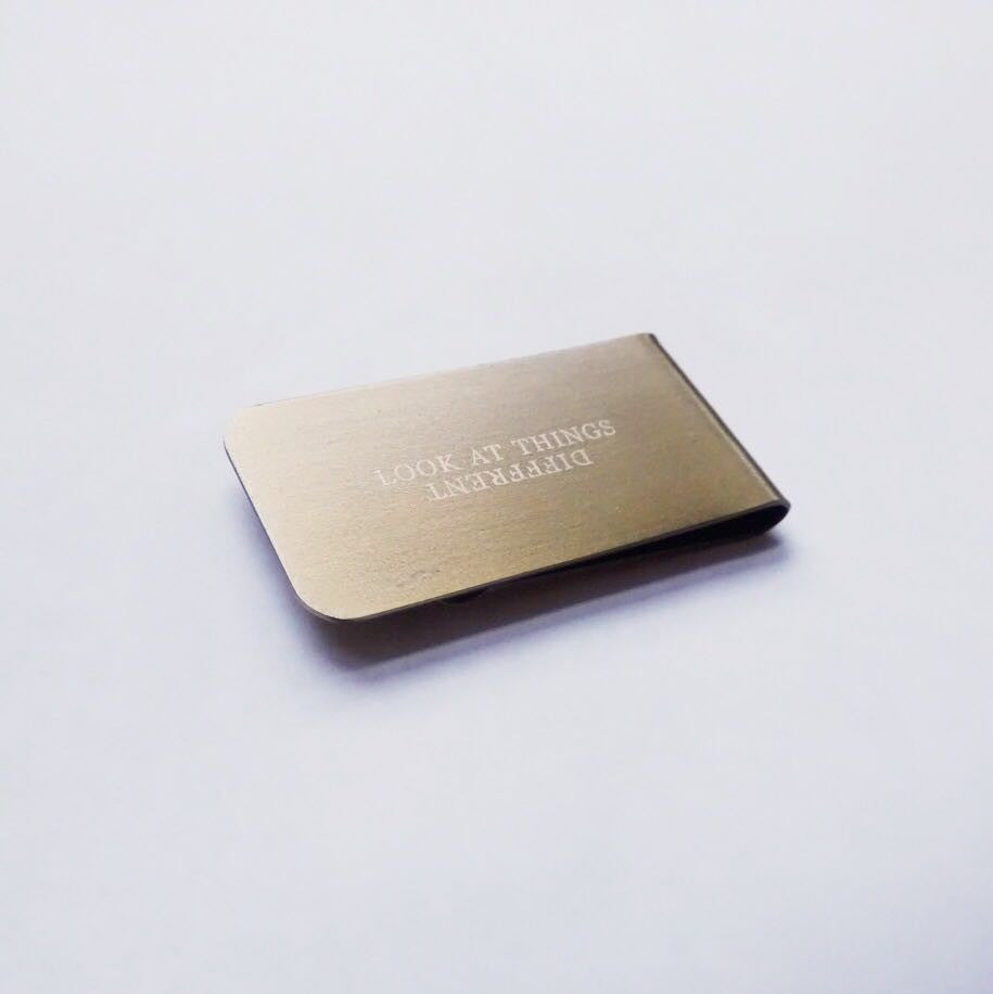 Money Clip - Look at Things Different