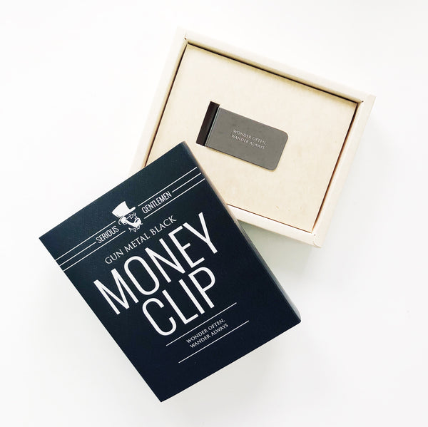 Money Clip - Wonder often, wander always