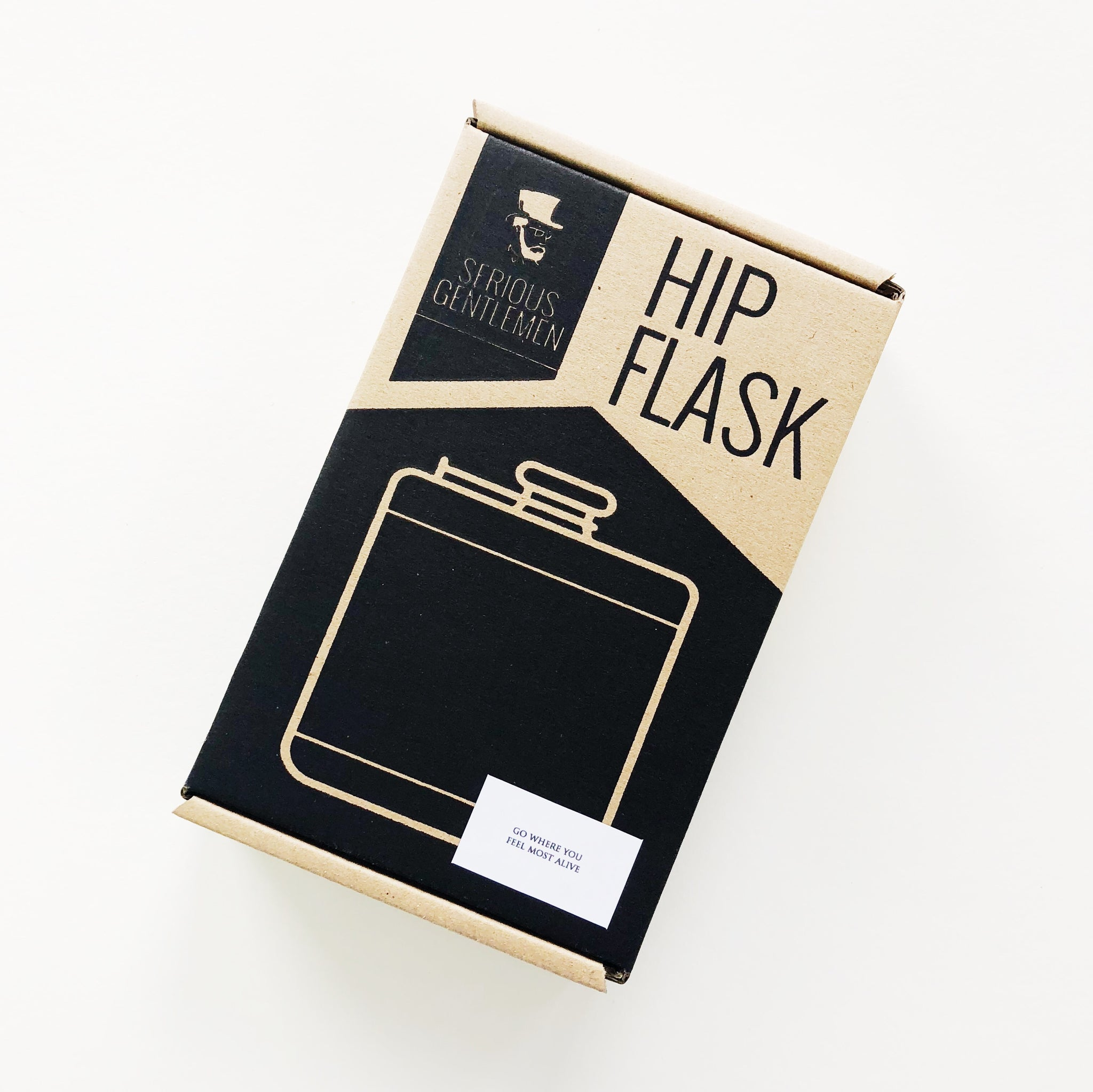 8 oz Flask - Go where you feel most alive