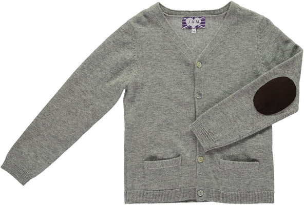 Grey Eddie Cardigan