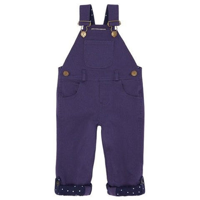 Navy Twill Dungarees