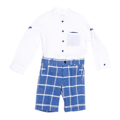Boys Shirt & Short Set