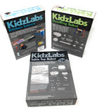 KidzLabs Robot Set - Kitchen Science, Doodling Robot, Table Top Robot