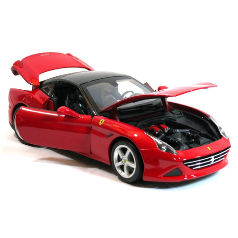 Ferrari California T Red 1/18 Special Edition BUNDLE with BONUS 6-8 1:64 Lamborghini & Care Package