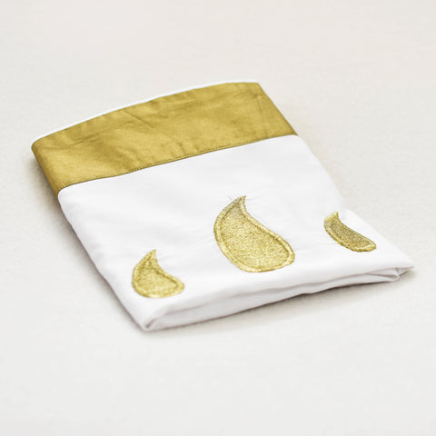 Organic cotton Classic Gold Pillow Shams 400 TC Sateen