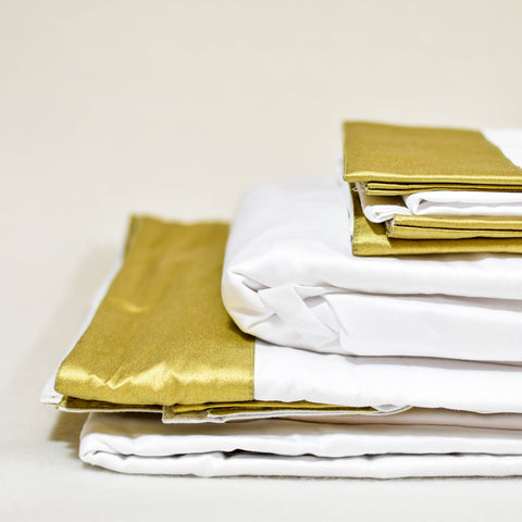 Classic Sheet Set in Gold - caché district