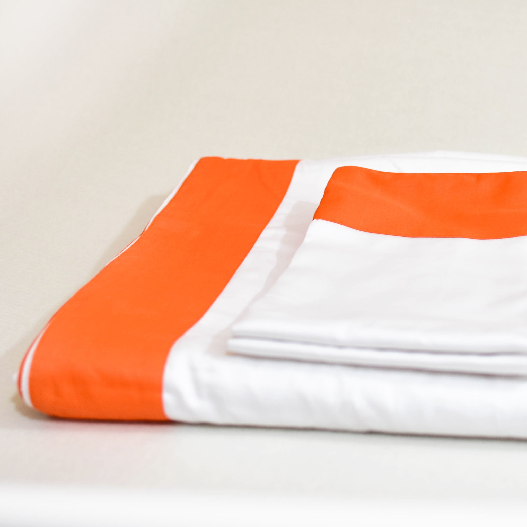 Classic Sheet Set in Orange - caché district