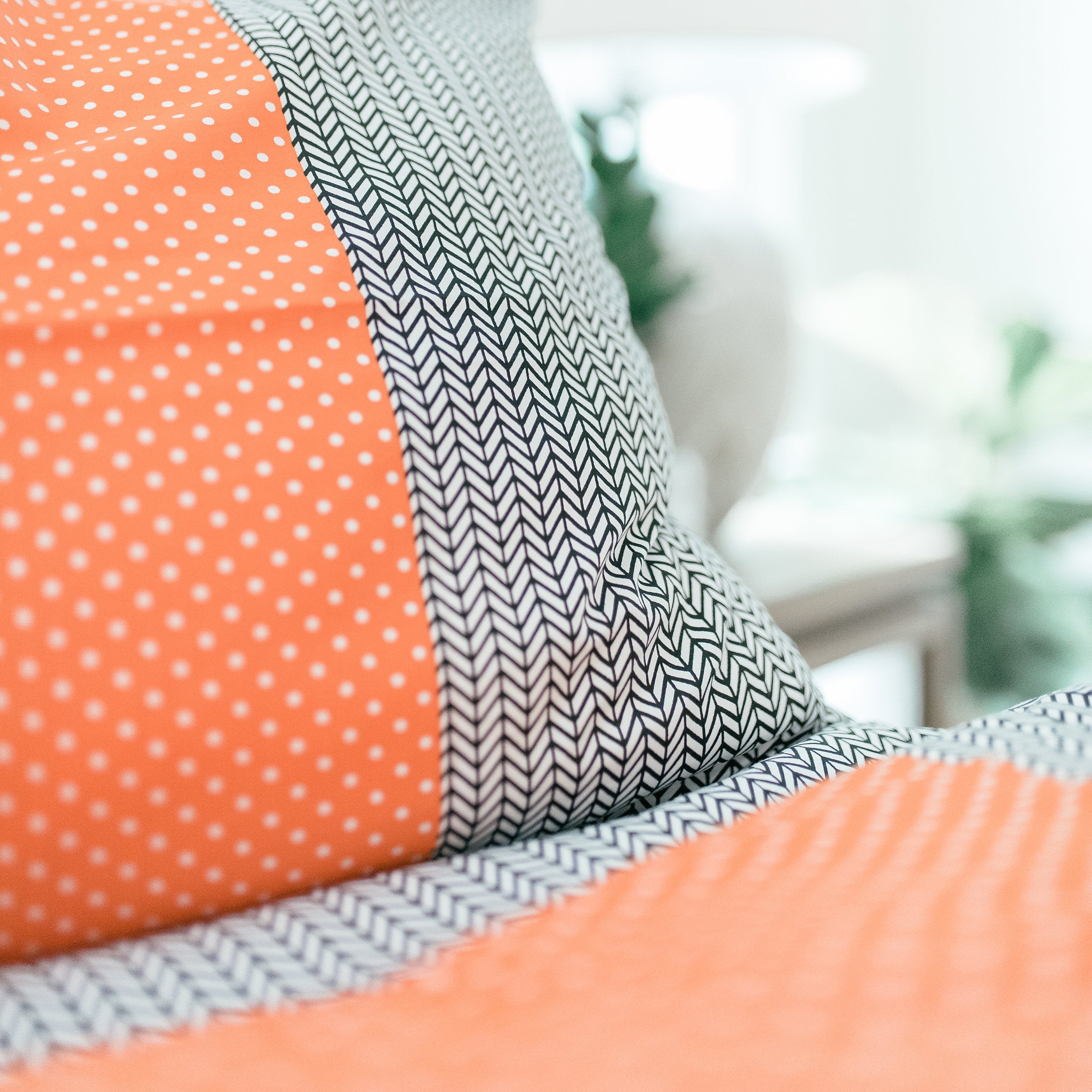 Blended Polka Dot Duvet Set - caché district
