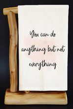 "ANYTHING NOT EVERYTHING 28"" x 29"" Premium Flour Sack Dish Towel & Reusable Bag!"