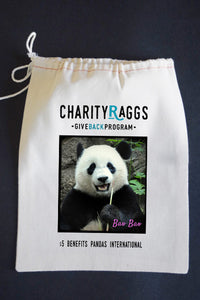 20% Net Proceeds Benefits PANDAS INTERNATIONAL! Bao Bao Dish Towel & Reusable Bag!