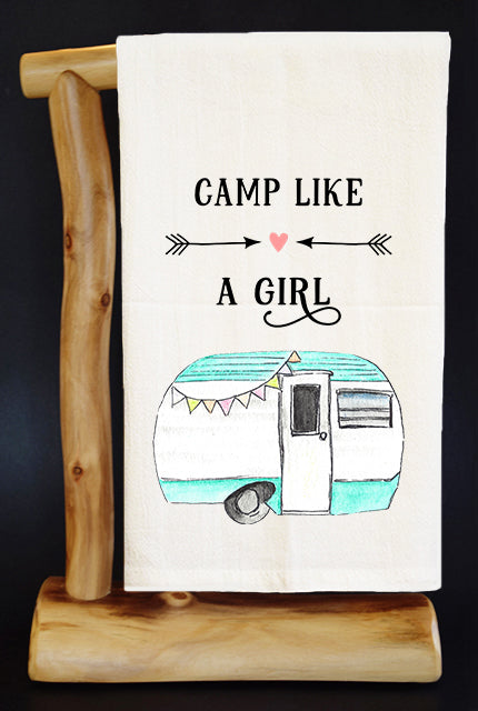CAMP LIKE A GIRL 20% Benefits HoldYou Foundation Dish Towel & Reusable Bag!