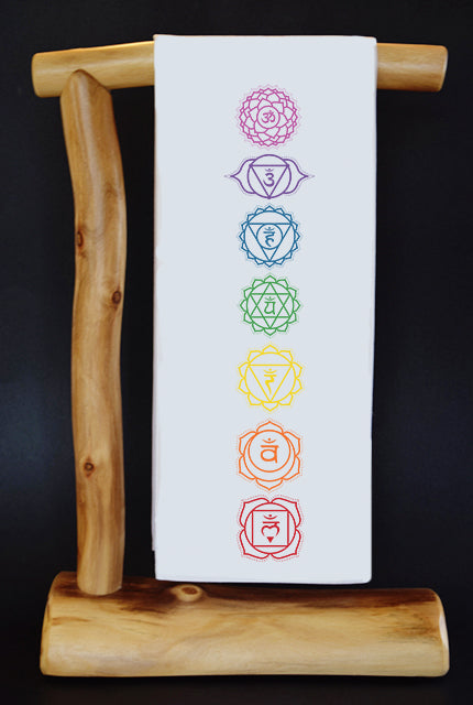 CHAKRAS Dish Towel & Reusable Bag!