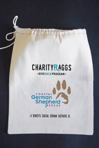 20% Net Proceeds Benefits COASTAL GERMAN SHEPHERD.TRUE LOVE Dish Towel & Gift Bag & Reusable Bag!