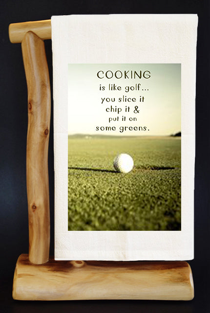 COOKING IS LIKE GOLF 28