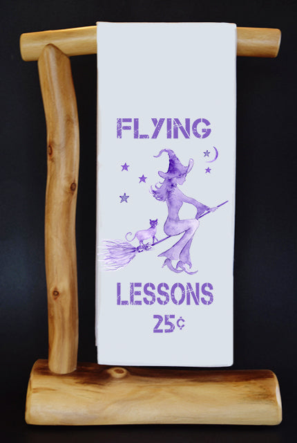 FLYING LESSONS Dish Towel & Gift Bag Set