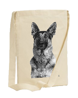 GSD SLING TOTE BAG (CHOOSE DESIGN)
