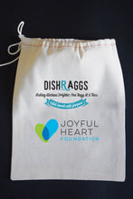 "25% Net Proceeds Benefits THE JOYFUL HEART FOUNDATION 17"" x 30"" Modern Plain Weave Dish Towel & Pouch"